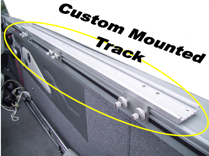 Custom Mounted Tracks to Lund Mount