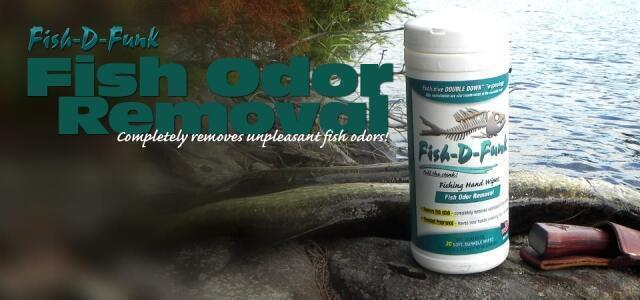 Fish-D-Funk™ Odor Removal Wipes