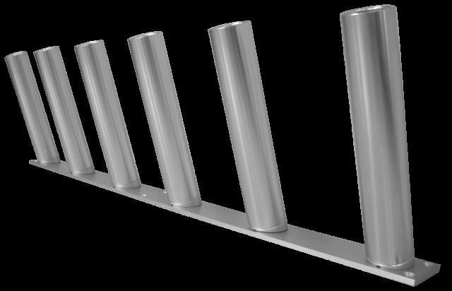 12 Unit stationary storage rack