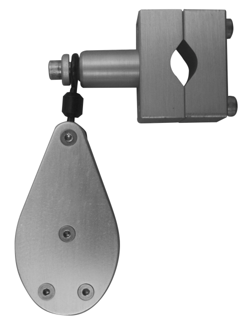 Single Planer Pulley with Clamps