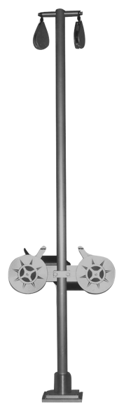 6' Dual Electric Planer Mast