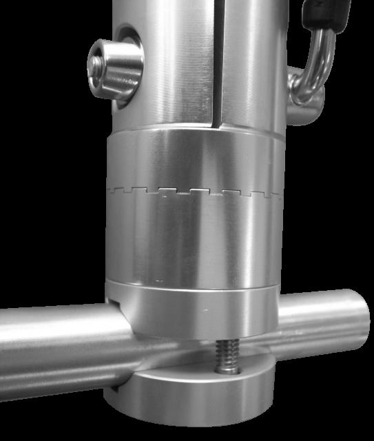 rail mount for adjustable rod holders trolling equipment