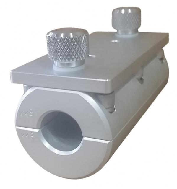 thumbscrew rail mount for single adjustable rod holder