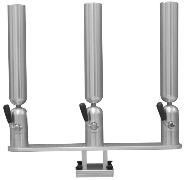 Triple Rod Holder Thumbscrew Mount Adjustable Rod Holder