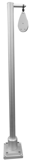3' Planer Mast with Pulley