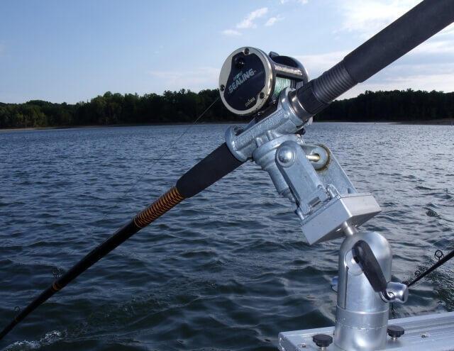 Down East Salty Bolt On Rod Holder Mount Cisco Fishing