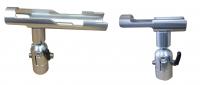 Trolling equipment fish finder mounts adjustable rod holders for Spring loaded fishing rod holder